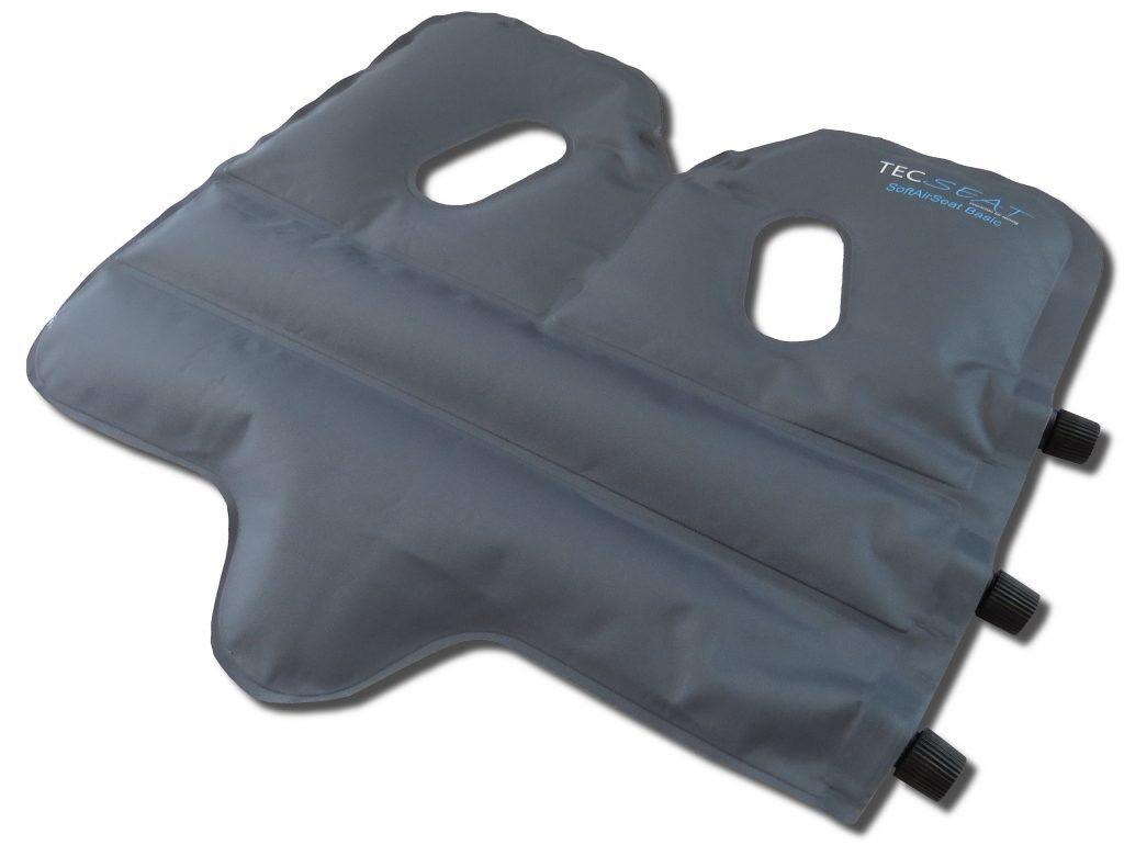 SoftAirSeat Basic+ - Angebot Das kleinste orthopädisches Sitzkissen der Welt - Noch dazu reduziert es den Ressourcenbedarf gegenüber änlichen Produkten um bis zu 95%