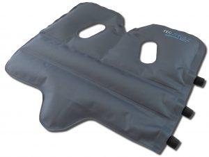 SoftAirSeat Basic+ - Orthopädisches Sitzkissen - Beste Entlastung der Wirbelsäule und der Bandscheiben