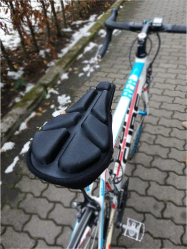 Luftsattel am Rennrad, keine Druckstellen und Schmerzen