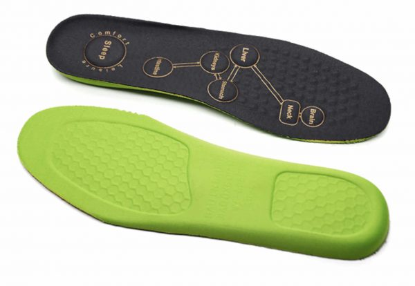 Schuhsohle mit Neodym Magneten