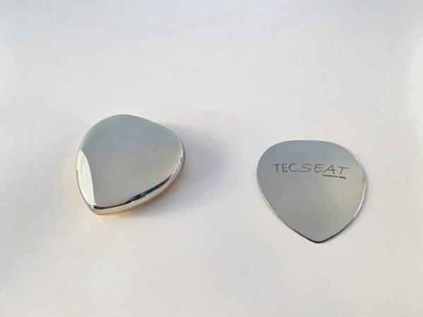 MagnetHerz, klein, stark und kraftvoll, Kupfer poliert